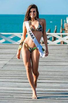 Veja as candidatas do Miss Brasil de biquíni