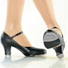 "TA 57 So Danca's ""Supreme Superior II"" 2"" Heel Ladies Tap Shoes (TA57)"