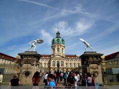 BERLIN- Castillo de Charlottenburg- barroco del siglo 18