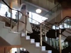 Stairs. We've all had our misunderstandings with them. Though necessary evils of civilized society, these looming little levels are something many of us have unfortunately learned first-hand are never to be completely trusted. Don't believe us? After viewing this extensive list of stair fails...