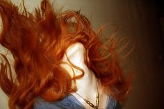 Red red red red! hair-beauty