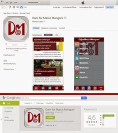 DuriMarcoMengoni Unofficial Blog: Sugli store la Dam for Marco Mengoni App