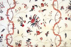 Block printed cotton, 1775-1800, 1958.72.11, Winterthur.