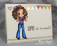 Ruza's Craft Corner: Life is Sweet! ...