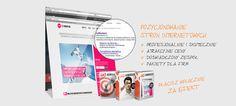Nasze foldery, strony internetowe, logotypy, wizytówki