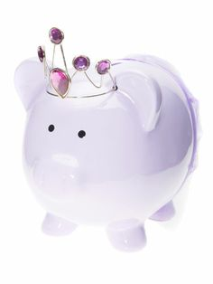 The 64 Best Gifts for Kids Pig Bank, Purple Tutu, Cool Gifts For Kids, Cute Piggies, All Things Purple, Paw Patrol, Ceramic Art, Different Colors, Fairy Tales