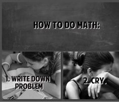 Yep, this about sums it up. Too bad i'm going back to college and i'm taking all math based courses :(