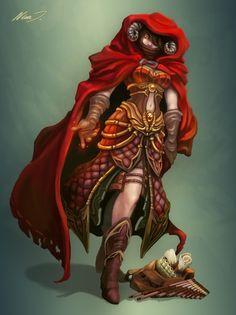 Tiefling Warlock by nina-ikavalko.deviantart.com