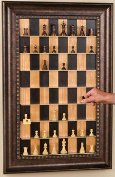 DIY Gifts for Your Parents | Cool and Easy Homemade Gift Ideas That Mom and Dad Will Love | Creative Christmas Gifts for Parents With Step by Step Instructions | Crafts and DIY Projects by DIY JOY | Vertical Chess Set | http://diyjoy.com/diy-gifts-for-mom-dad-parents