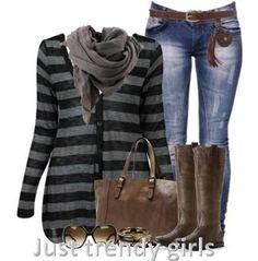 Women Casual wear in winter http://www.justtrendygirls.com/women-casual-wear-in-winter/