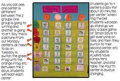 Kindergarten Reading Groups/Centers