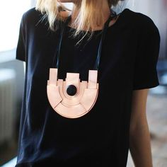 Geometric necklaces.