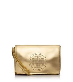 Perforated Logo Clutch   Womens Clutches & Evening Bags