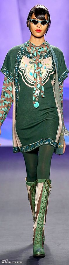 NYFW Anna Sui Fall/Winter 2014 RTW | The House of Beccaria