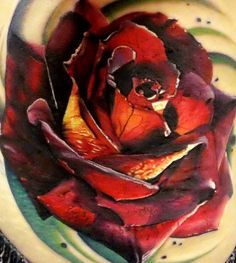 John Barrett - Black 13 Tattoo | Realistic Rose Tattoo.