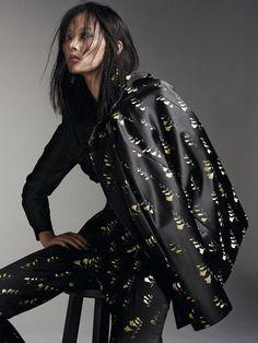 Li Xiao Xing by Bjarne Jonasson for Elle UK March 2015