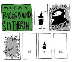 """emilyscartoons: """" Y'all like them Facebook pages? Slytherin's got Facebook pages: https://www.facebook.com/backgroundslytherin/ """" Reblogging the frogging Haven't taken the Pottermore test but I'm like 97% sure it's this"""