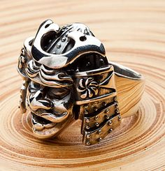 Samurai Mask Rings