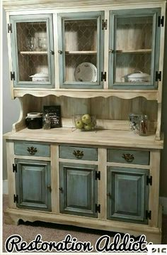 My hutch makeover!