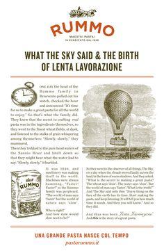 Tales of Taking your Time - Pasta RUMMO Lenta Lavorazione