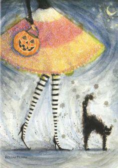 Bella Pillar- Halloween Skirt