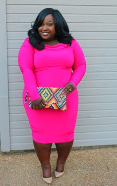 Style 4 Curves --For the Curvy Confident Woman: Pink Pinup (A Chic and Curvy Review)