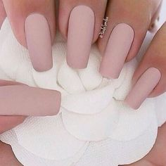 A manicure is a cosmetic elegance therapy for the finger nails and hands. A manicure could deal with just the hands, just the nails, or Nude Nails, Matte Nails, Blush Nails, Oval Nails, Neutral Nails, Gorgeous Nails, Pretty Nails, Perfect Nails, Nagel Gel
