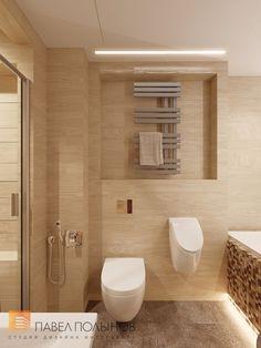 Фото: Интерьер ванной комнаты - Квартира в современном стиле с элементами лофта, ЖК «Эдельвейс», 102 кв.м.