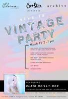 Viva La Vintage Party (Free Fun During SXSW!) | Thursday, March 13, 2014 | 2-5pm | Co-Star at 1708 S. Congress Ave., Austin, TX 78704 | Complimentary beverages, VIP discounts, and live music | RSVP: http://www.eventbrite.com/e/viva-la-vintage-party-free-fun-during-sxsw-tickets-10759551107