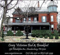 Chambersburg Pa Bed Breakfast