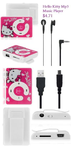 Hello kitty  Mp3 music player #music #mp3 #player #hellokitty $4.71