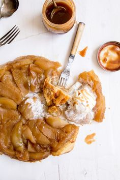 Skillet Apple Tarte Tatin - Where Elegant French Desserts and Rustic Cast Iron Skillets meet!