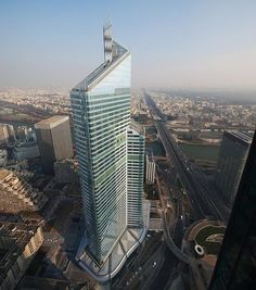 First Tower (or Tour First) in La Defense Paris via SkyscraperCity