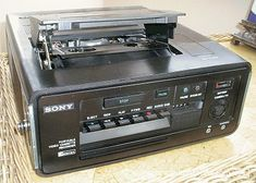 Sony SL-3000 first domestic portable Betamax.    .....................Please save this pin.   .............................. Because for vintage collectibles - Click on the following link!.. http://www.ebay.com/usr/prestige_online