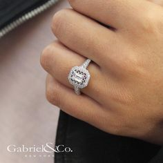 Prepare to be engaged. Discover this halo diamond engagement ring by clicking the link in our bio. . . . . #GabrielNY #GabrielAndCo #NewYorkCity #EngagementRing #Bridal #NewYork #NYC #LoveYou #Tulips #BrideToBe #BridetoBride #Diamonds #Love #Ring #TrueLove #MustHave #DreamWedding #WeddingInspiration #Glamour #Heart #love #anniversary #design #jewelry #whitegold #diamond Style #: ER913078