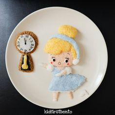 Never look back. If Cinderella went back and picked up her shoe, she wouldn't have become a princess!! By Kidfirst Bento (@kidfirstbento)