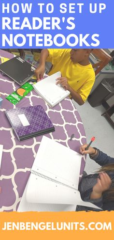 Check out this blog post for how to set up your reader's notebooks so that learning can last ALL YEAR long and not just one day.  :)