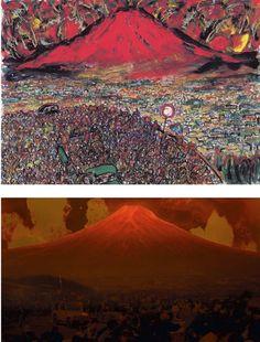 黒澤明監督の直筆絵コンテ。実際の映画のシーンと比較した画像がとても興味深い – 展覧会情報・写真・デザイン | ADB(Artist DataBase) Film Pictures, Wheel Of Life, Storyboard, Akira, City Photo, Concept Art, Mountains, Movies, Travel