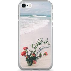 IPhone 7/7+ Flower Beach ❤ liked on Polyvore featuring accessories and tech accessories