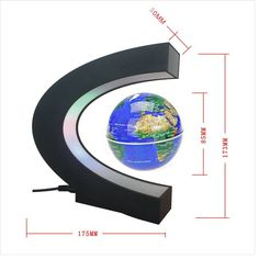 Floating Globe Arvin Magnetic Levitation Globe Rotating Globe Educational Learning Geographic Political World Map with Funny C Shape Desktop Stand and LED Light for Home School Desk Office Decor *** For more information, visit image link. Kids Gadgets, High Tech Gadgets, Rotating Globe, Small Business Software, Magnetic Levitation, Led Lighting Home, Map Globe, School Desks, Office Decor
