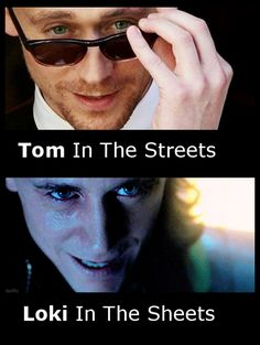 Tom and Loki- hahahaha