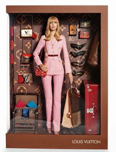 Louis Vuitton Barbie doll // Photo by Giampaolo Sgura for Vogue Paris