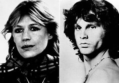 "Marianne Faithfull said her dope-slinging boyfriend ""went to see Jim Morrison and killed him"" with a heroin overdose."