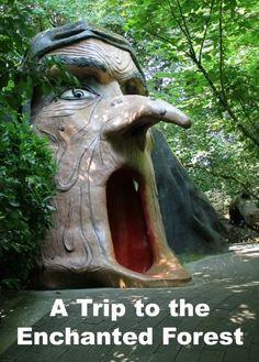 Salem, Oregon: Enchanted Forest Theme Park   Road Trips For Families