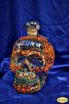 Tequila Beer, Tequila Bottles, Alcohol Bottles, Liquor Bottles, Perfume Bottles, Beer Bottle Chandelier, Cocktail Drinks, Alcoholic Drinks, Liquor Dispenser