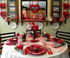 Plum Creek Place: Valentines Day Par-Tay Tablescape