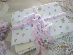 Tutorial -Shabby Chic Envelope