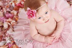 Girlie girl!  Baby photography