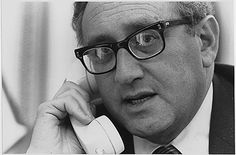 Public Domain: Henry Kissinger on the Phone to Brent Scowcroft, April 29, 1975 by David Hume Kennerly (NARA) | by pingnews.com