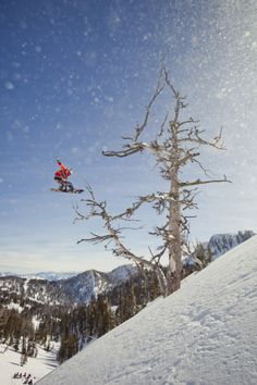 Travis Rice filming for The Art of FLIGHT in Jackson Hole